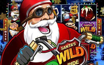 Santa's Wild Ride Online Pokies